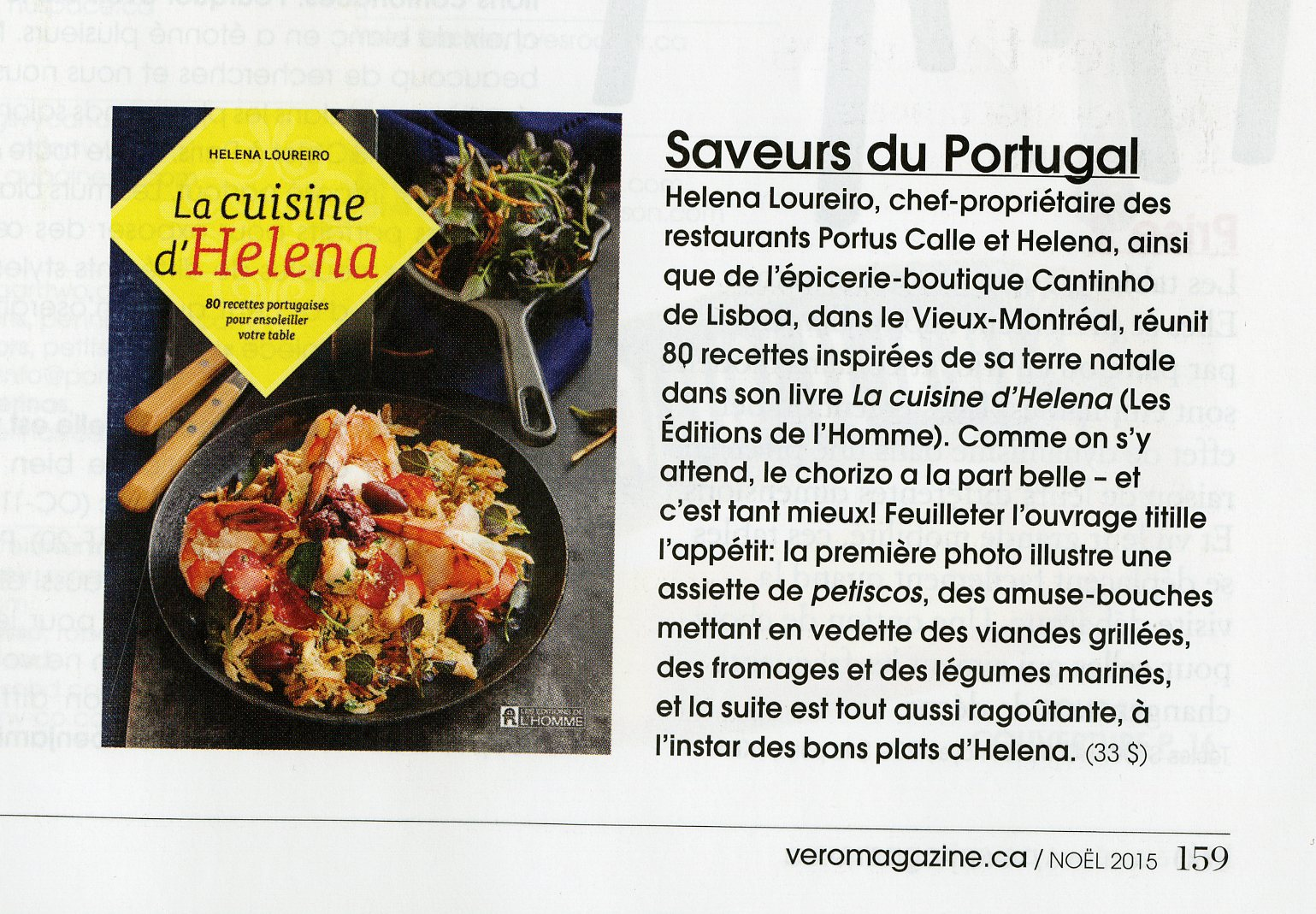 Livre La cuisine d\u0027Helena , 80 recettes portugaises pour