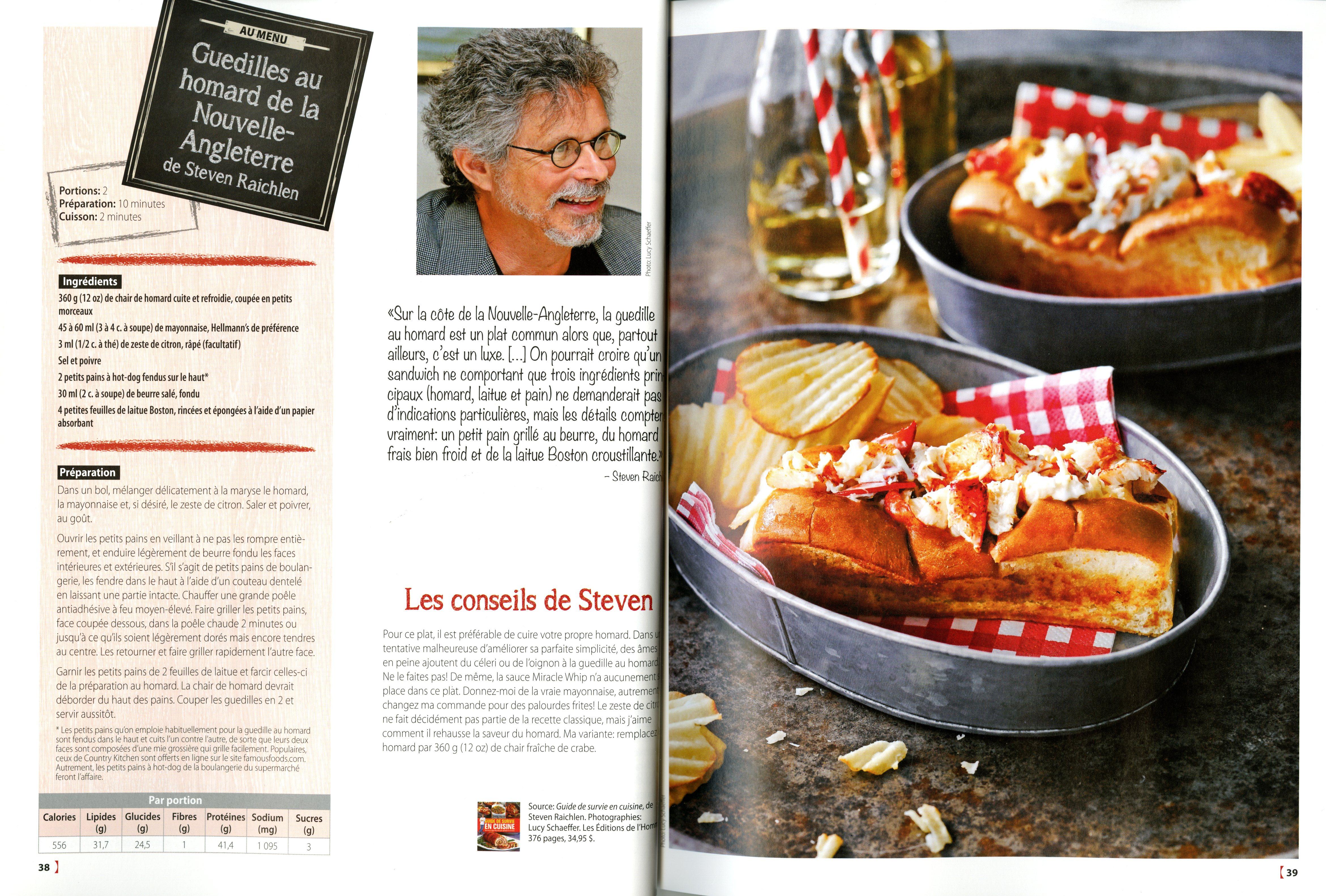 Livre guide de survie en cuisine tout ce qu 39 un homme for Article de cuisine montreal